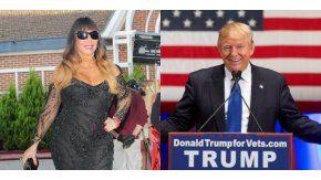 Moria Casán respaldó a Donald Trump.