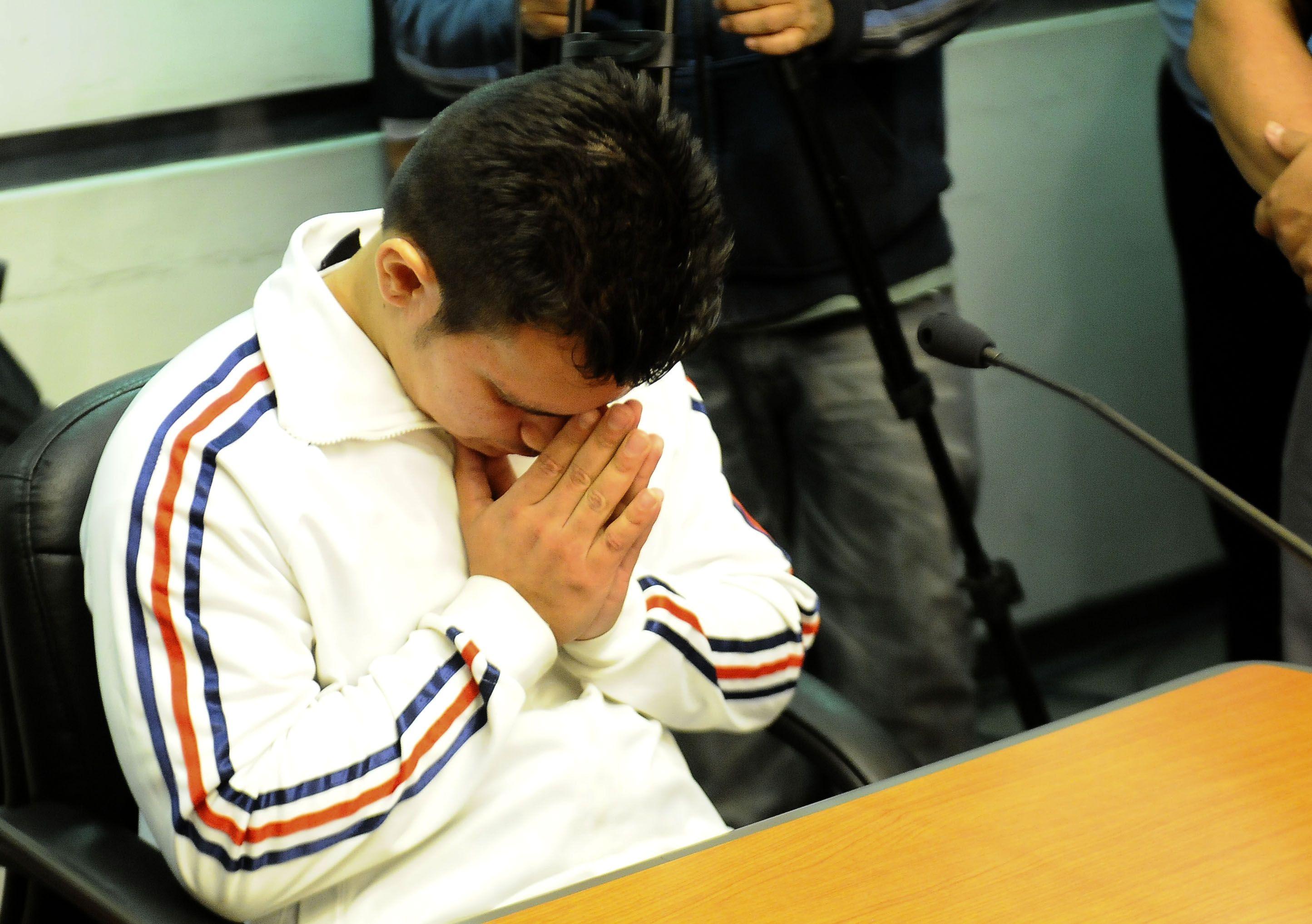 Lucas Azcona fue condenado a cadena perpetua.