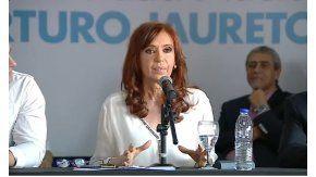 Cristina Kirchner apuntó contra los funcionarios del gobierno de Macri