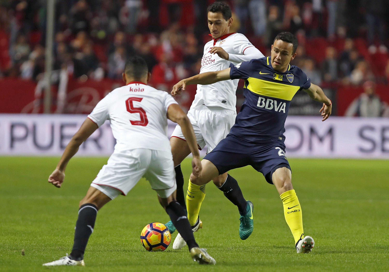 Sevilla enfrenta a Boca en un amistoso por el torneo Antonio Puerta