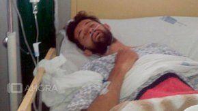 Ariel Mazza, el joven internado en Perú. Crédito: 10 Ahora