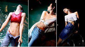Agustina Cherri, hot en un video.