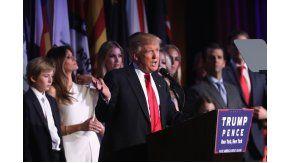 Trump, flamante presidente de los Estados Unidos