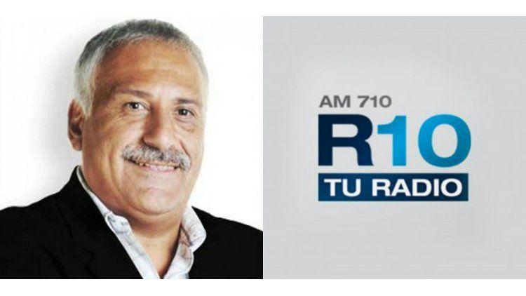 Darío Villarruel llega a Radio 10.