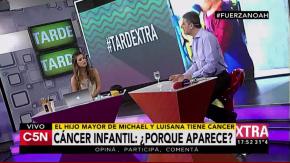 Alejandro Turek, médico oncólogo, en los estudios de C5N