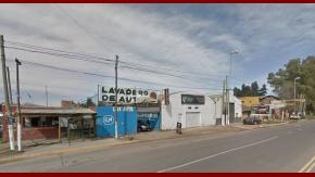 El lavadero del que era dueño la víctima, en Ruta 26 y Nicaragua