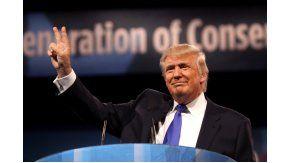 Donald Trump victorioso