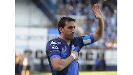 Diego Milito, emocionado en su despedida en Avellaneda