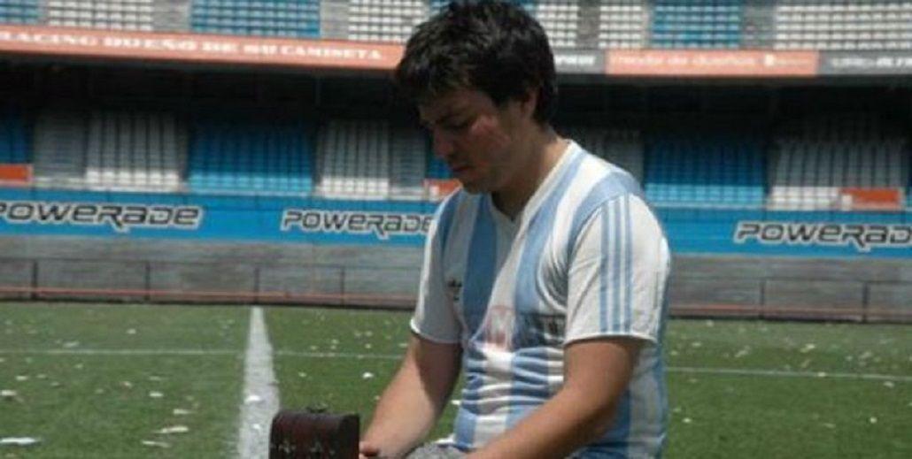 Nicolás Pacheco participó como actor del cortometraje Gracias a mi viejo