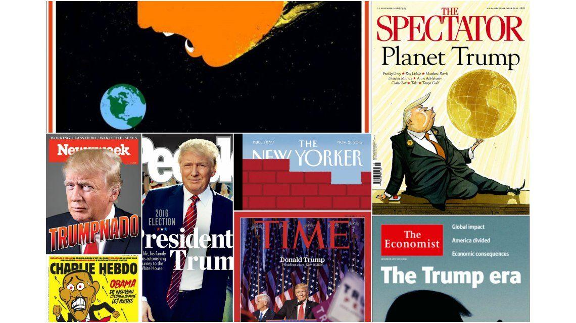 Las principales revistas del mundo tienen a Donald Trump en su portada