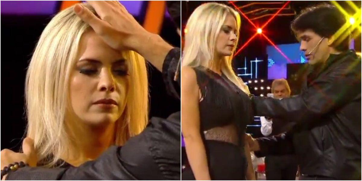 Alejandra Maglietti fue hipnotizada por Tusam en Bendita.