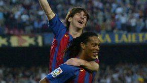 Messi anotó su verdadero primer gol en el 2004