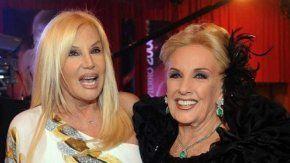 Mirtha Legrand bancó a Susana Giménez frente a la madre de Facundo Moyano.