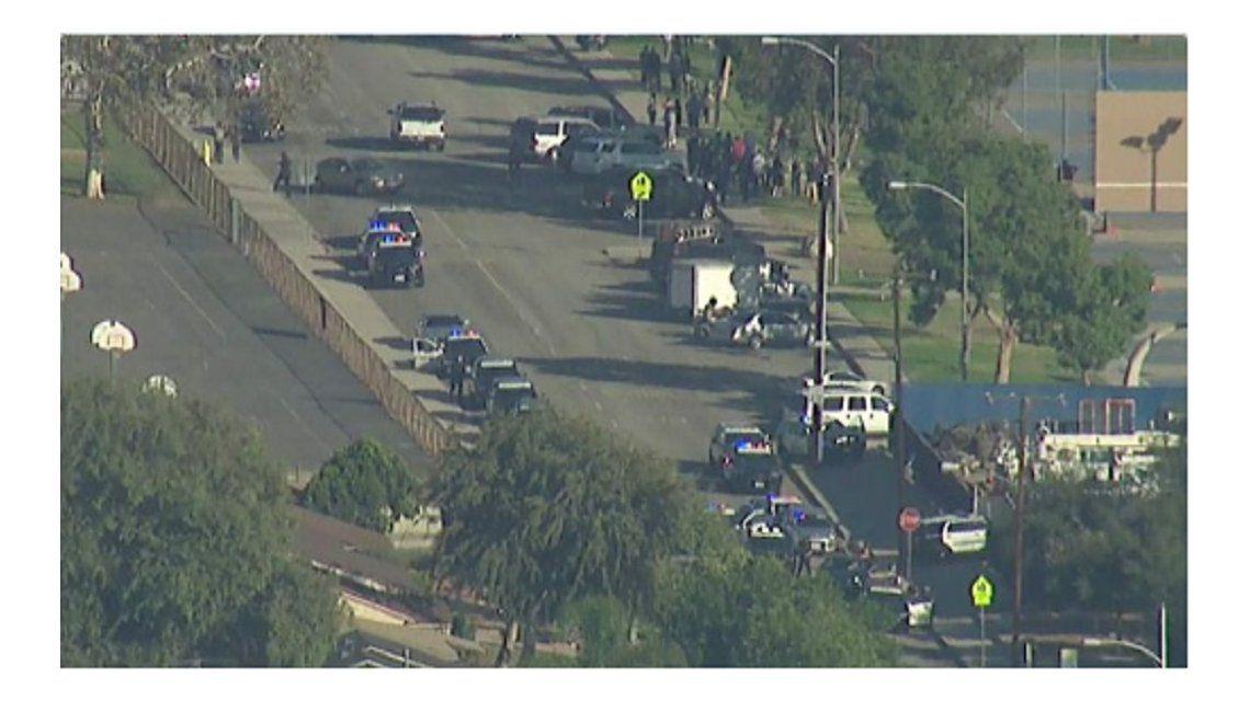 Hubo un tiroteo en California que dejó cinco heridos