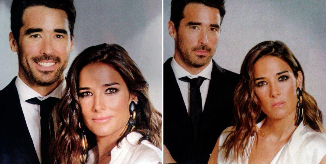 Juana y Nacho Viale posaron juntos.