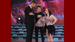 Ángela Torres hizo bailar a su novio en ShowMatch.
