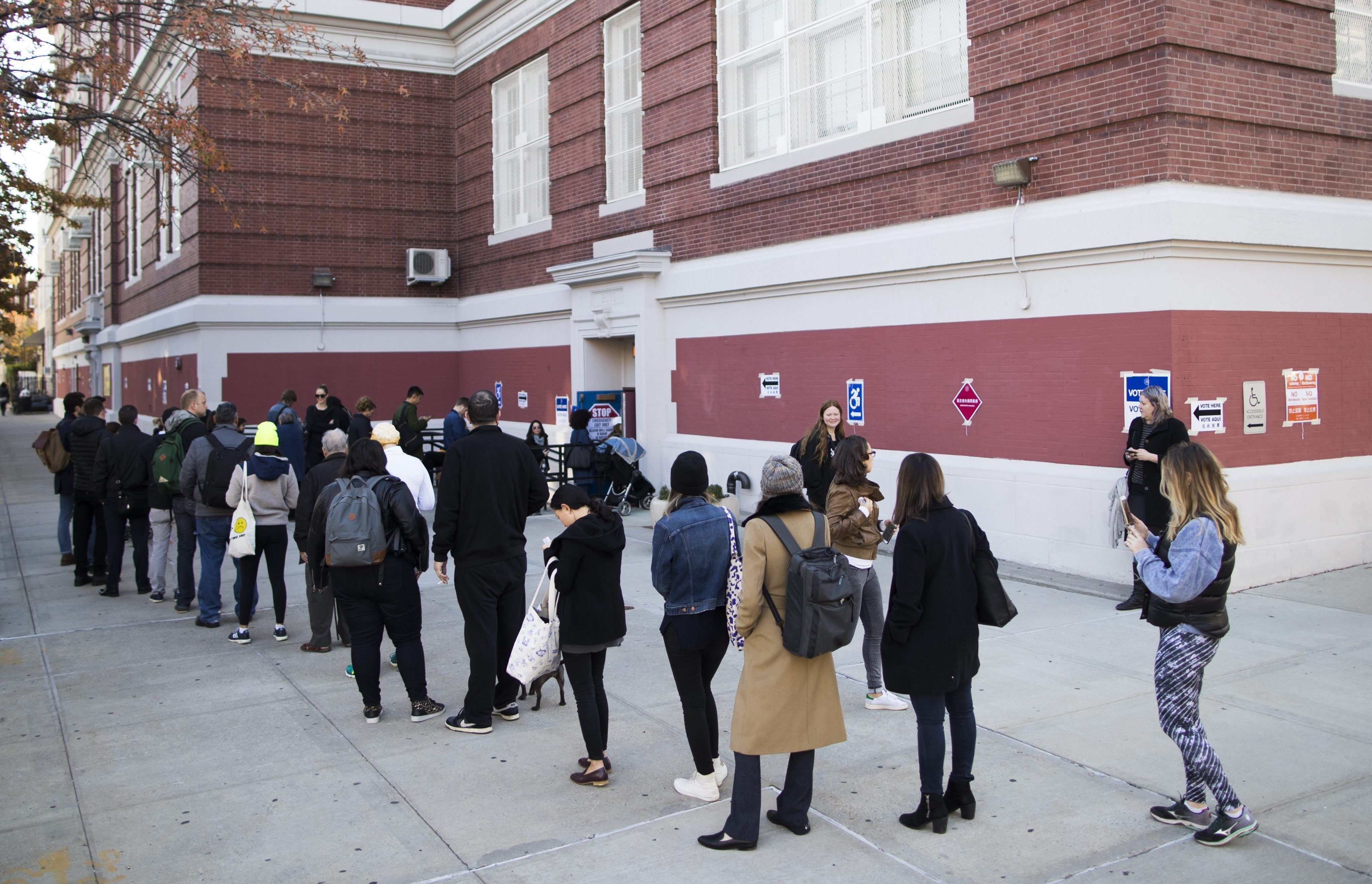 Las mejores imágenes de las elecciones en Estados Unidos