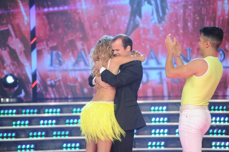 María del Cerro emocionó a todos por la performance que hizo con su hermano.