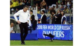 Edgardo Bauza, preocupado por el rendimiento de la Selección argentina