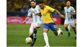 Brasil enfrenta a Argentina en Belo Horizonte