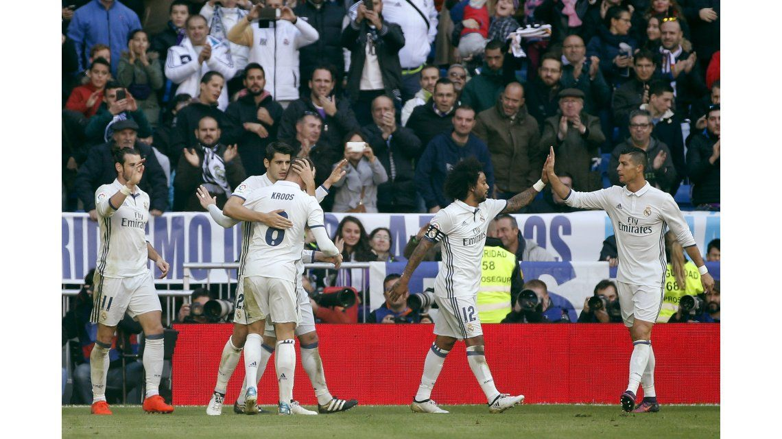 Real Madrid recibe al GIjón