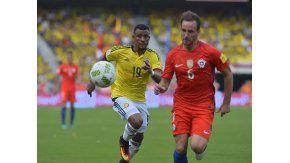 Colombia y Chile se enfrentan en Barranquilla