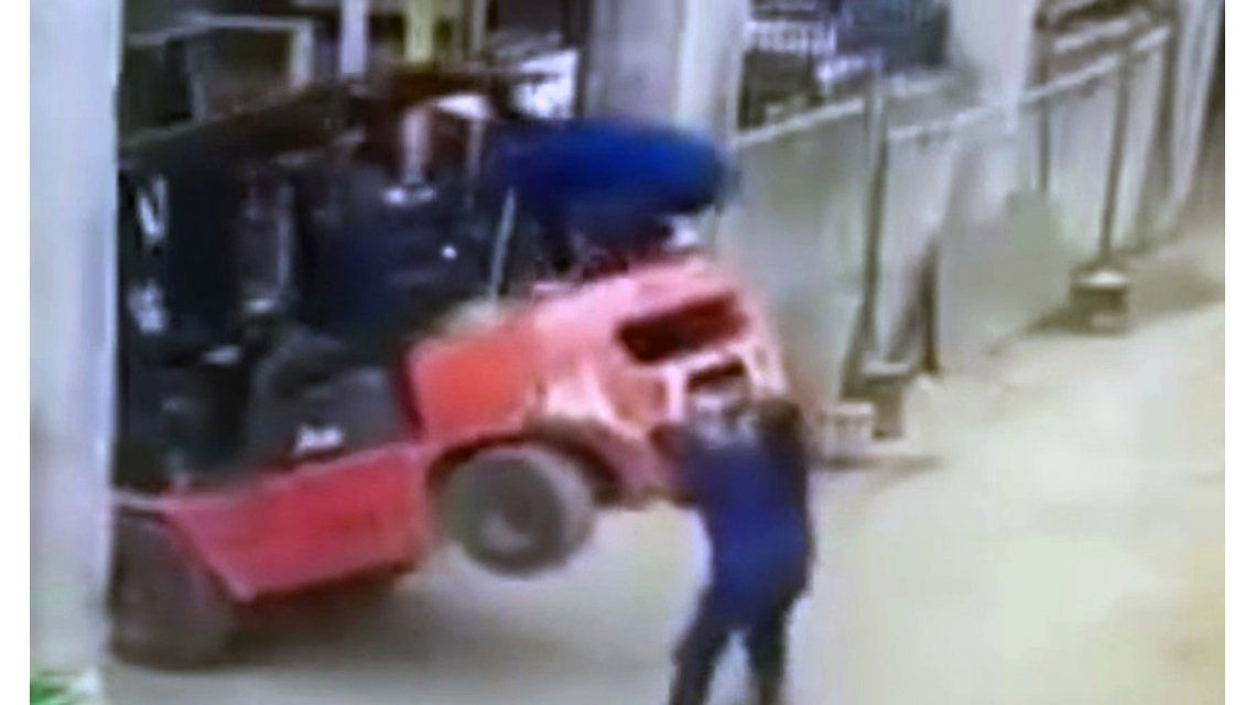 Brutal accidente en una fábrica de China