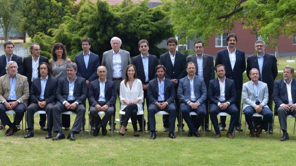 El gabinete de María Eugenia Vidal