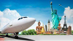 El destino más elegido para viajar al exterior es Brasil