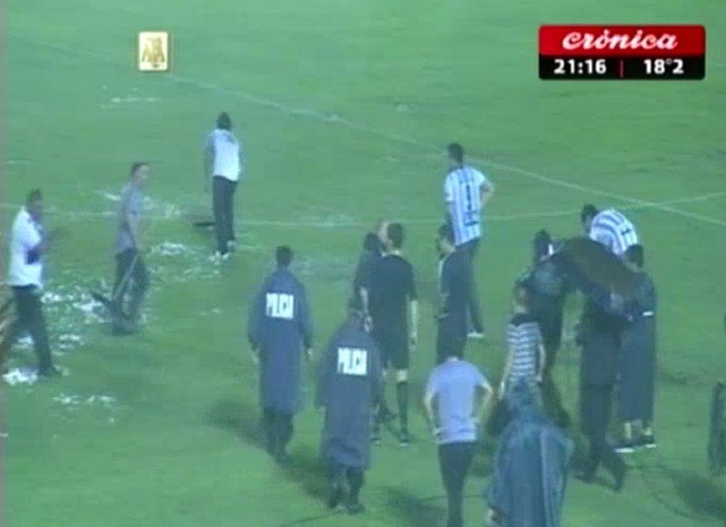 El partido entre Atlético Tucumán y Unión quedó suspendido por lluvia