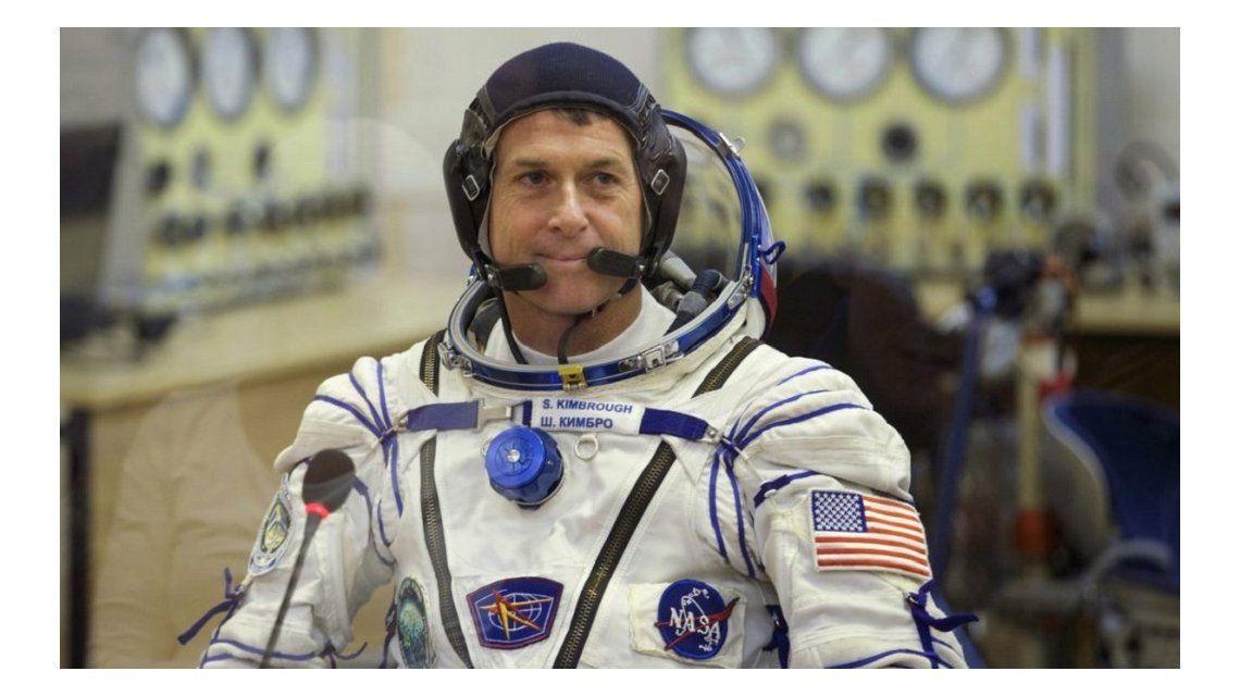 Kimbrough llegó a la Estación Espacial Internacional el 19 de octubre