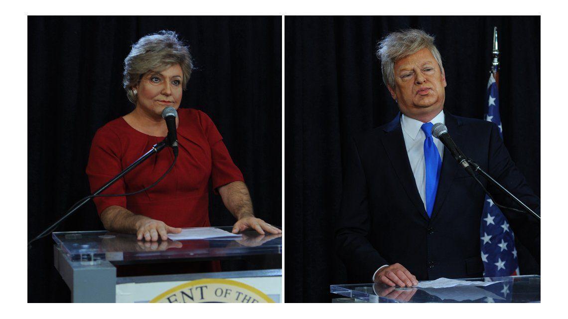 Hillary y Trump hablaron con Marcelo Tinelli