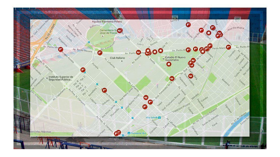 El Mapa de la Inseguridad ya tiene más de 40 denuncias.