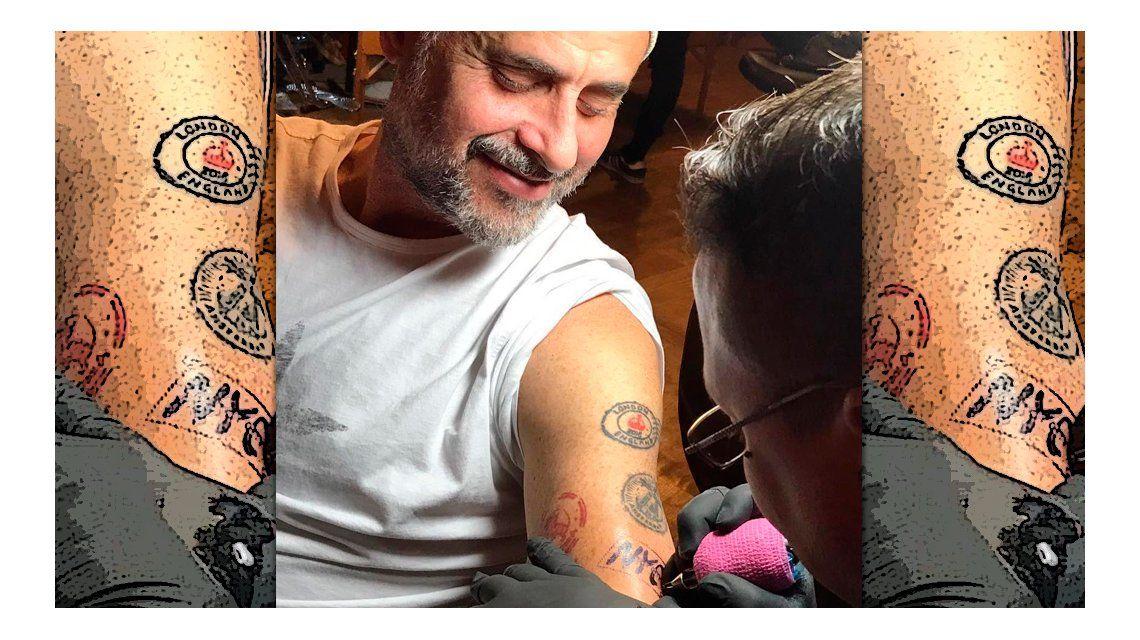 El tattoo de Rial