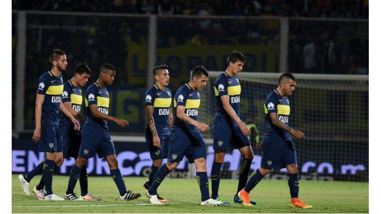 La desazón de Boca tras la derrota ante Rosario Central que lo deja afuera de la Libertadores 2017
