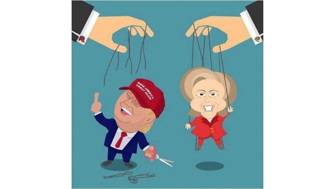 Memes de las elecciones en Estados Unidos
