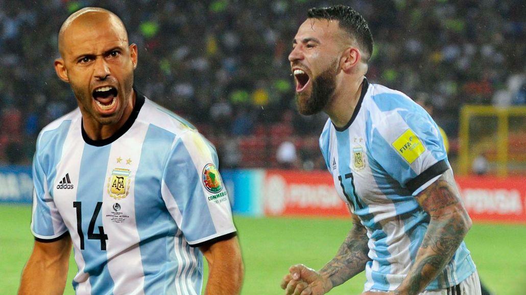 Con Argentina afuera del Mundial 2018, hablaron Mascherano y Otamendi