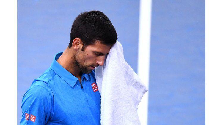 El serbio Novak Djokovic cayó por 6-4 y 7-6 en los cuartos de final del Masters 1000 de París