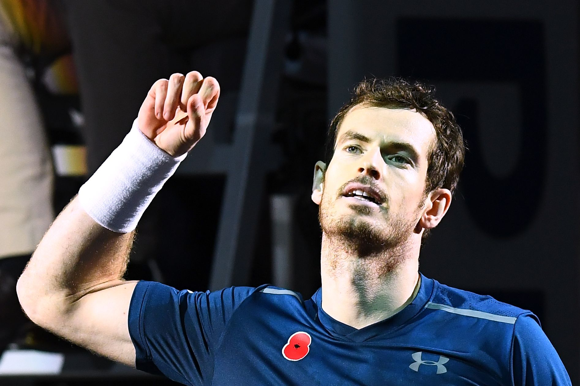 El escocés Andy Murray celebra su número uno con el triunfo en el Masters 1000 de París-Bercy.