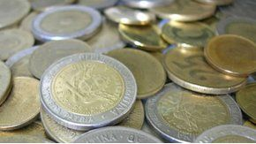 Desde enero, habrá monedas de 5 y 10 pesos.