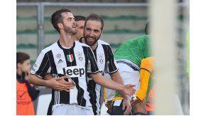 Juventus le ganó al Chievo Verona y se afianzó en la cima de la Serie A.