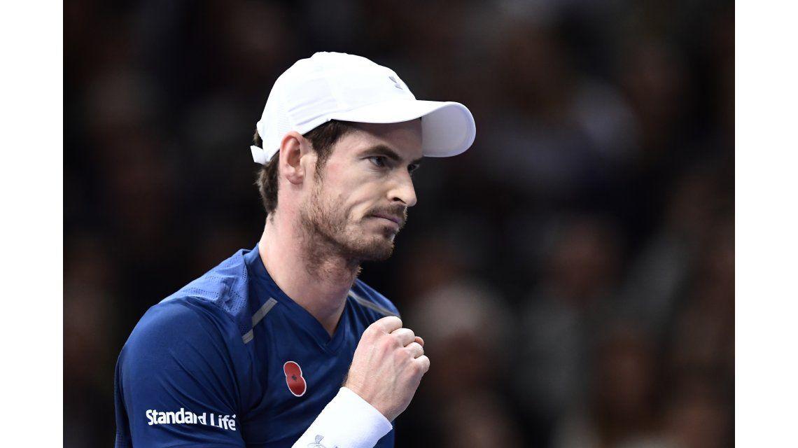 En su estreno como N°1 del mundo, Murray se quedó con el título en el Masters de París