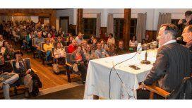 Gustavo Sylvestre estuvo en Bariloche por la presentación de su libro