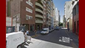Calle Rioja al 600 en Rosario, el lugar donde habría ocurrido el abuso