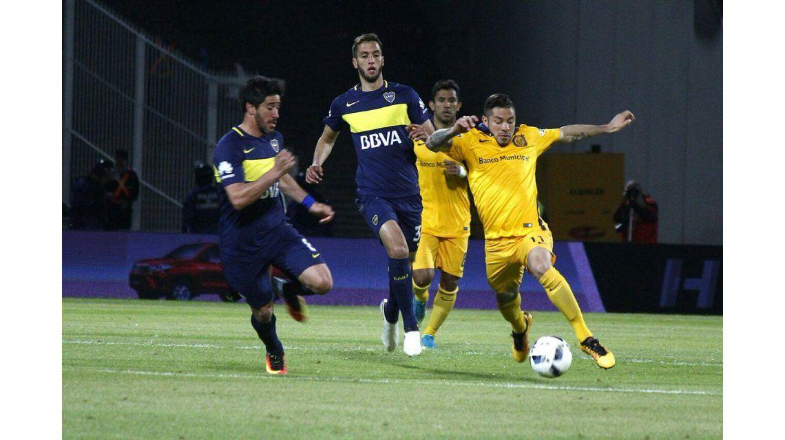 Boca y Rosario Central se enfrentan en Córdoba por los cuartos de final de la Copa Argentina