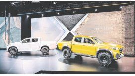Mercedes-Benz dio a conocer el modelo conceptual de su primera pick  mediana.