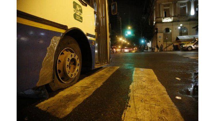 Paro de colectivos en La Plata por tiempo indeterminado