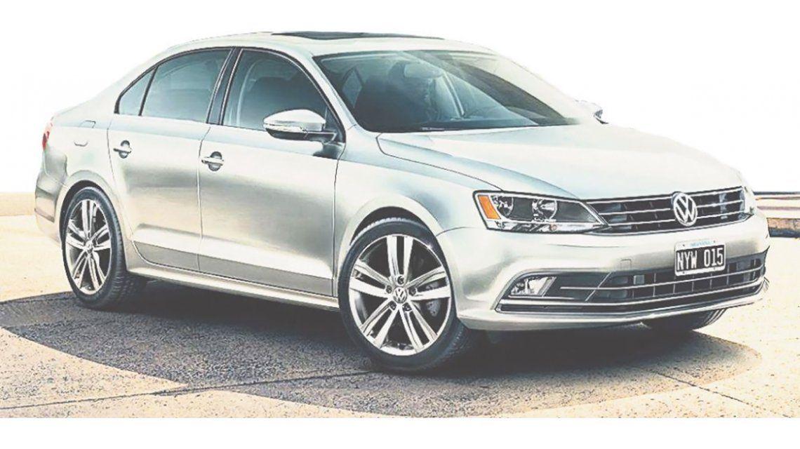 Volkswagen readecuó la gama del mediano Vento.