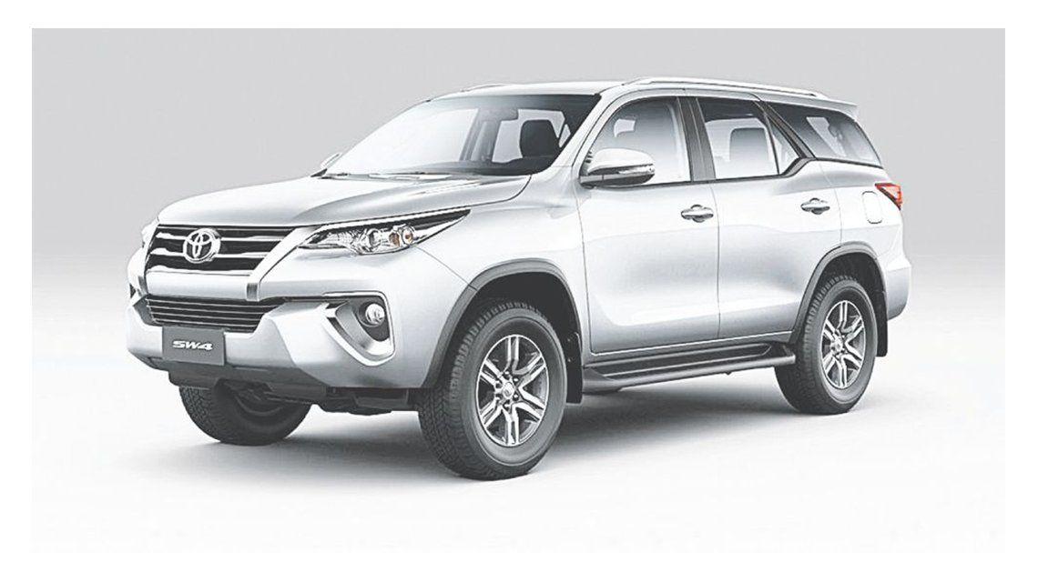 Toyota extendió la oferta de la SW4 con la incorporación de variantes de cinco plazas.
