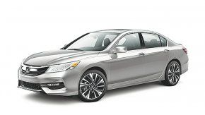 La japonesa Honda renovó en el mercado local al Accord.